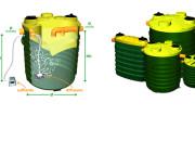 Impianti di depurazione a fanghi attivi ad aerazione estesa in polietilene